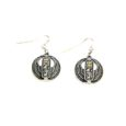 egyptian cartouche earrings