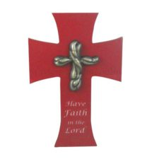 have faith cross wall plaque