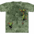 peace tree frogs t shirt