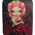 pink lightning fairy laptop sleeve cover